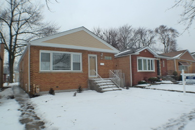 Cook County Single Family Home New: 11836 South Hale Avenue