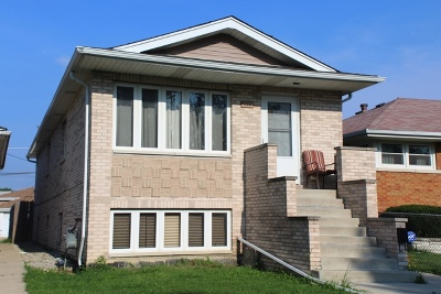 Cook County Single Family Home New: 4933 South Lorel Avenue