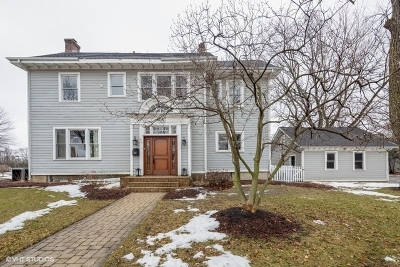 Hinsdale Single Family Home New: 305 South Garfield Street