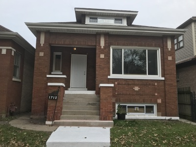 Chicago IL Single Family Home New: $314,900