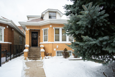 Cook County Single Family Home New: 3019 North Narragansett Avenue