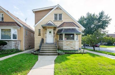 Cook County Single Family Home New: 6153 West Lawrence Avenue