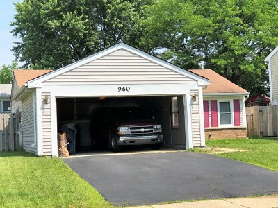 Roselle Single Family Home For Sale: 960 Edenwood Drive