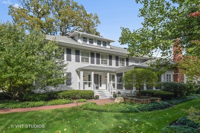 Winnetka Single Family Home Price Change: 761 Lincoln Avenue