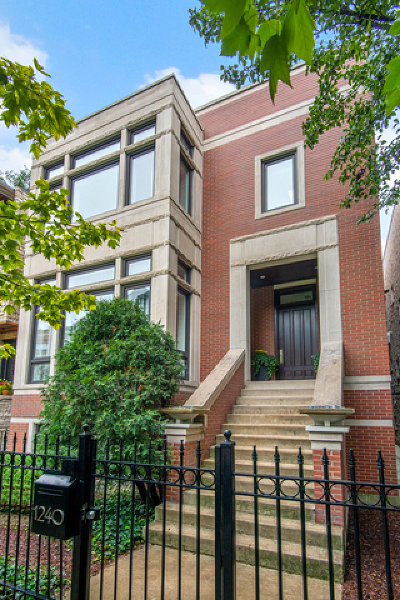 Single Family Home For Sale: 1240 West George Street