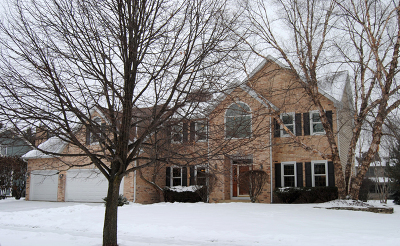 Naperville Single Family Home Price Change: 4352 Camelot Circle