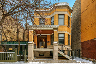 Multi Family Home For Sale: 4113 North Ashland Avenue