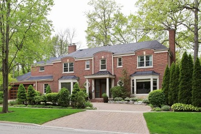 Highland Park Single Family Home For Sale: 330 Lincolnwood Road