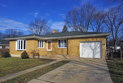 Crystal Lake Single Family Home For Sale: 184 Union Street
