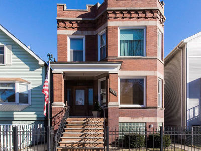 Roscoe Village Multi Family Home For Sale: 3307 North Seeley Avenue