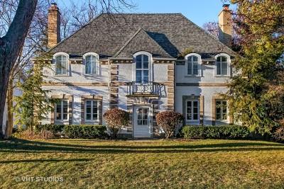 Glencoe Single Family Home Price Change: 235 Dennis Lane