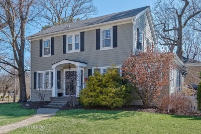 Highland Park Single Family Home For Sale: 273 Lincolnwood Road