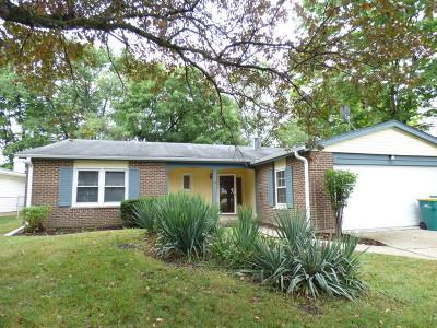 Buffalo Grove Single Family Home For Sale: 1082 Mill Creek Drive