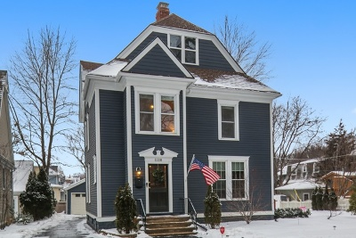 Downers Grove Single Family Home Price Change: 1118 Franklin Street
