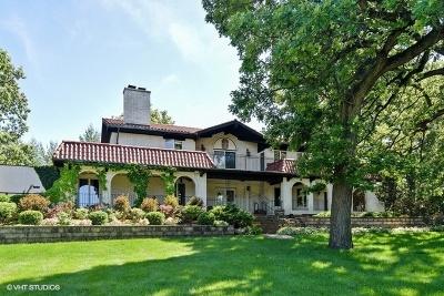 Willowbrook Single Family Home For Sale: 16w471 Hillside Lane