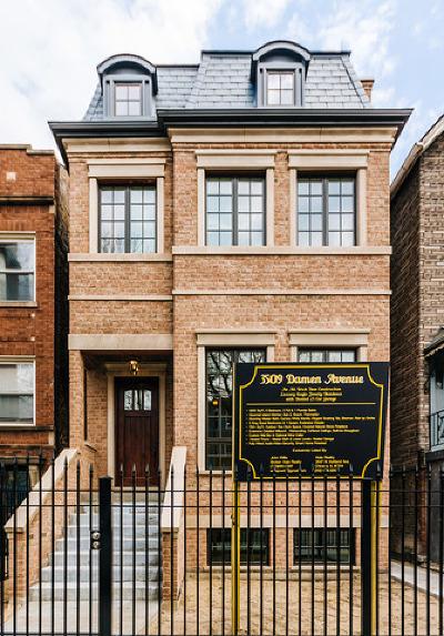 Single Family Home For Sale: 3509 North Damen Avenue