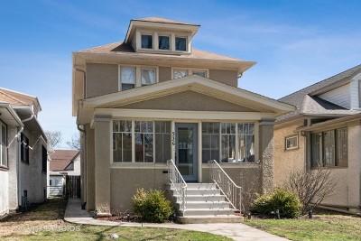 Oak Park Single Family Home For Sale: 536 Clarence Avenue