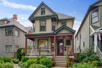 Single Family Home For Sale: 1833 West Berenice Avenue