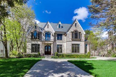 Glencoe Single Family Home For Sale: 554 Longwood Avenue