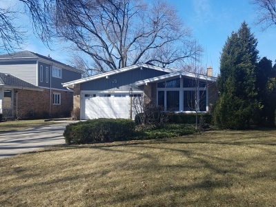 Western Springs Single Family Home For Sale: 5436 Woodland Avenue
