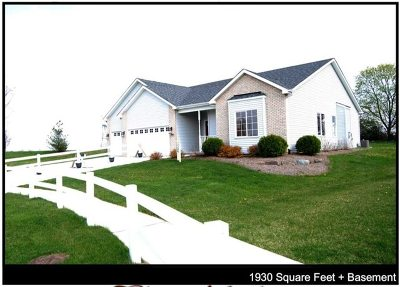 Channahon Single Family Home For Sale: 27337 West Deer Hollow Lane