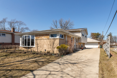 Morton Grove Single Family Home For Sale: 7708 Beckwith Road