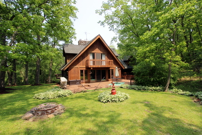 Woodstock Single Family Home For Sale: 3204 South Cherry Valley Road