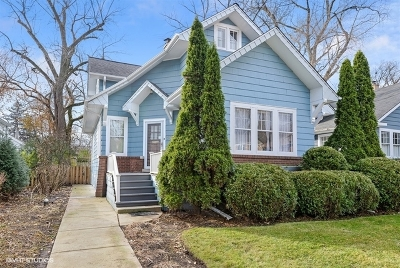 Wilmette Single Family Home For Sale: 1721 Wilmette Avenue
