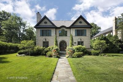 Wilmette Single Family Home For Sale: 1301 Chestnut Avenue