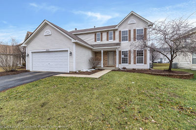 Aurora Single Family Home For Sale: 860 Teasel Lane