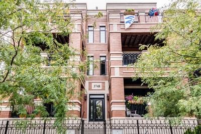 Condo/Townhouse For Sale: 3748 North Damen Avenue #3S