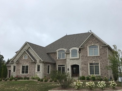 Kane County Single Family Home For Sale: Lot 92 Prairie Lakes Boulevard