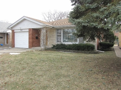 Lincolnwood Single Family Home For Sale: 3831 West Sherwin Avenue