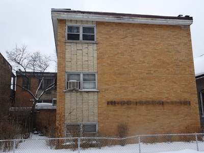 Chicago Multi Family Home Contingent: 6633 South Marquette Road