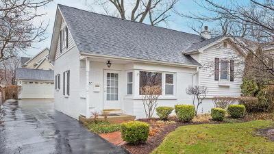 Western Springs Single Family Home Price Change: 4057 Hampton Avenue