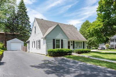 Downers Grove Single Family Home Price Change: 4600 Elm Street