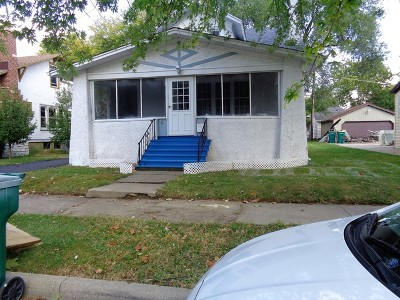 Joliet Single Family Home Re-Activated: 6 South Prairie Avenue