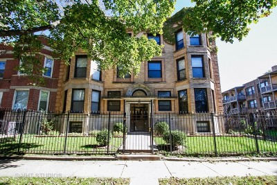 Chicago Condo/Townhouse For Sale: 6547 South Ellis Avenue #1N