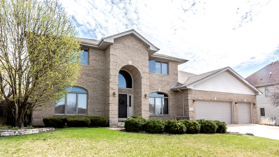 Tinley Park Single Family Home Price Change: 9000 Timberwood Lane