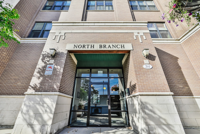 Condo/Townhouse For Sale: 2510 West Irving Park Road #206