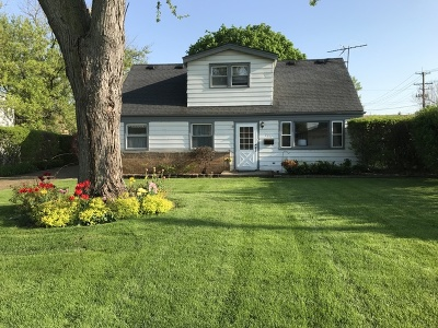 Glenview Single Family Home Price Change: 3217 Knollwood Lane