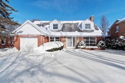 Wilmette Single Family Home For Sale: 3848 Lake Avenue