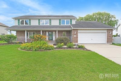 Channahon Single Family Home For Sale: 26165 West Leslie Drive