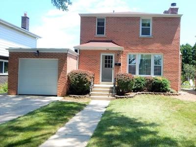 Morton Grove Single Family Home Contingent: 9041 Parkside Avenue