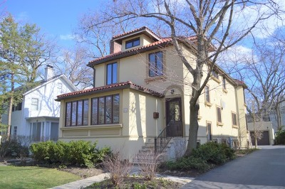 Glencoe Single Family Home For Sale: 350 Woodlawn Avenue