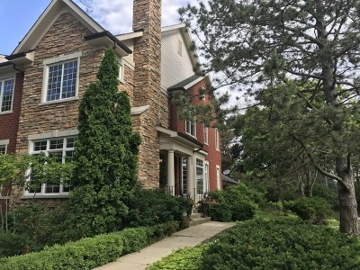 Glenview Condo/Townhouse For Sale: 4220 Linden Tree Lane