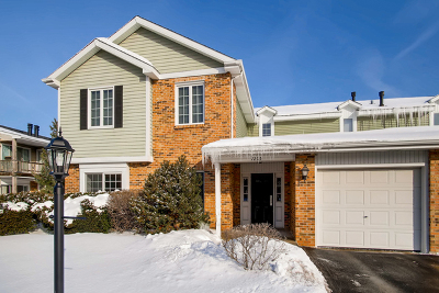 Willowbrook Condo/Townhouse For Sale: 7205 Willow Way Lane #A