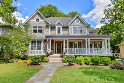 Glen Ellyn Single Family Home For Sale: 345 Scott Avenue