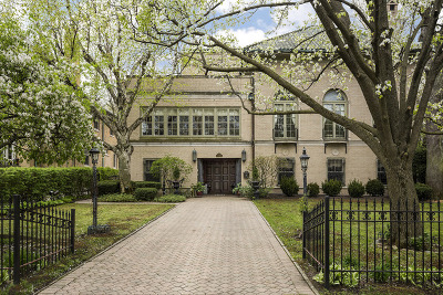 Wilmette Single Family Home For Sale: 219 Central Avenue