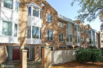 Oak Park Condo/Townhouse For Sale: 112 Bishop Quarter Lane